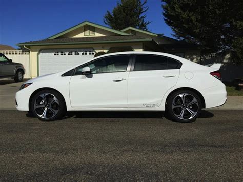Honda Si 2015 by Jeremey S 2015 Honda Civic Si On D2 Lowering Springs