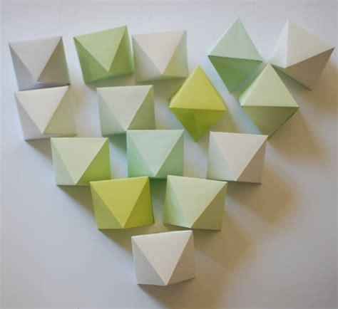 How To Make A Polyhedron Out Of Paper - make a beautiful paper polyhedron mobile