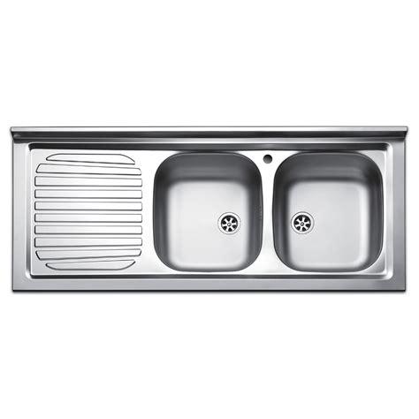 lavello con gocciolatoio lavello da appoggio due vasche con gocciolatoio a sinistra