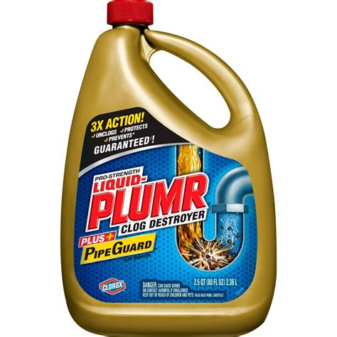 UPC 044600002286   Liquid Plumr Clog Remover, Gel, Professional Strength, 80 fl oz (2.5 qts) 2