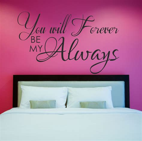 vinyl wall sayings for bedroom love quote decal master bedroom wall decal vinyl wall quote