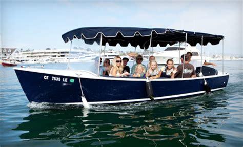 duffy boat rental lido adventures boat rentals newport beach ca groupon