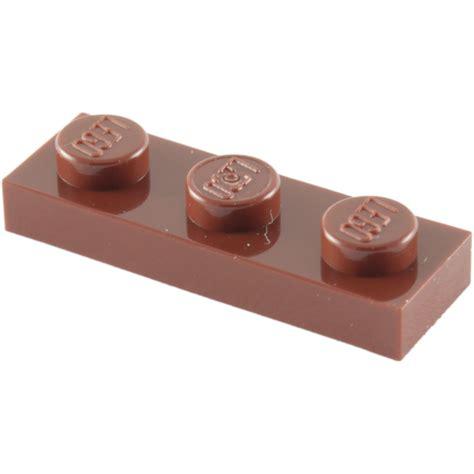 Lego Brown lego reddish brown plate 1 x 3 3623 brick owl lego marketplace