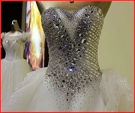 Renda Bordir image gallery swarovski dress