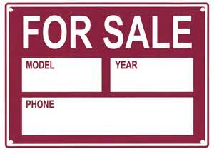 Vehicle For Sale Sign Template by Vehicle For Sale Sign 9944 Additional Products Sas