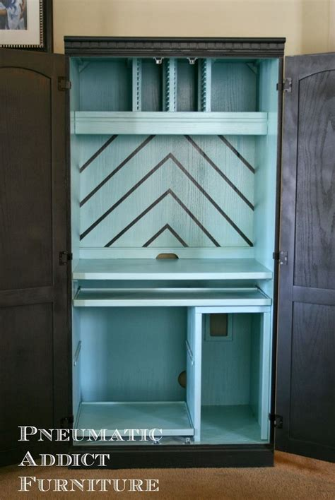 the 25 best computer armoire ideas on white