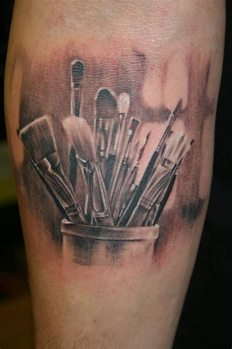 paint brushes tattoo tattoomagz tattoo designs