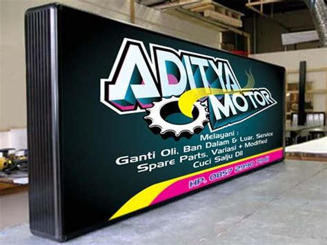 jasa pembuatan kartu kredit yogyakarta jasa pembuatan neon box murah di jogja billboard jogja