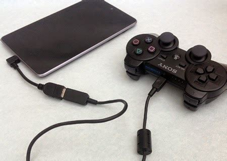 Joystick Android Usb Otg how to use pc gamepad as gamepad for android the tech time
