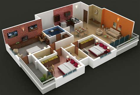 unique ideas   bhk apartment interior designs