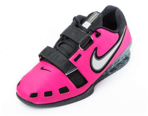 nike romaleos 2 weightlifting shoes pink blast white