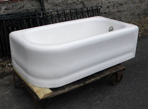 vintage corner bathtub antique apron tub
