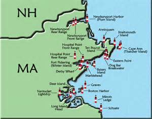 lighthouses map massachusetts lighthouse map
