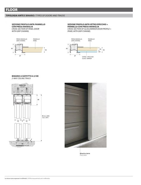 porte su misura porte scorrevoli lisce su misura porte a prezzi scontati