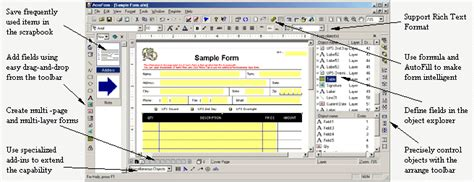 forms design software formmax e forms software for business forms designing and filling pdf form maker