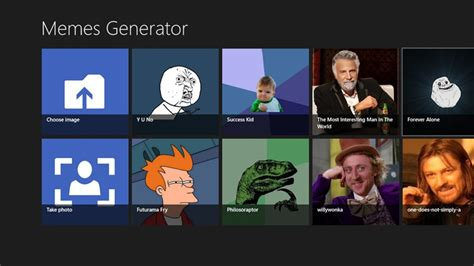 Meme Generator Software - memes generator for win8 ui screenshot x 64 bit download