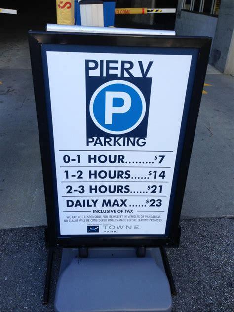 pier v parking pier v parking parking in baltimore parkme