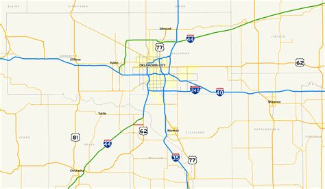 map of oklahoma highways oklahoma state highway 130 wikiwand