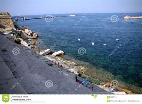 porto la valletta malta porto la la valletta malta fotografia stock immagine