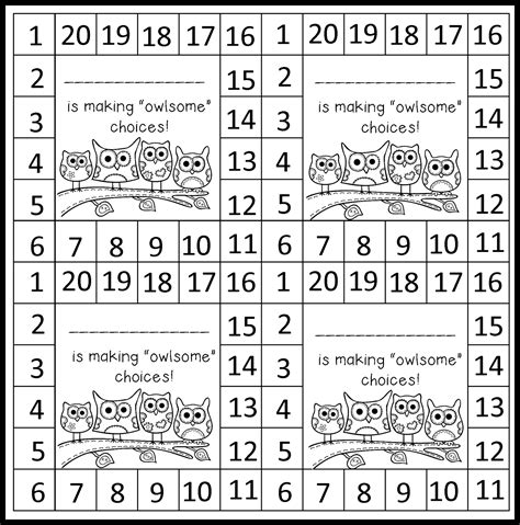 free punch card templates monday made it behavior punch cards mrs b s beehive