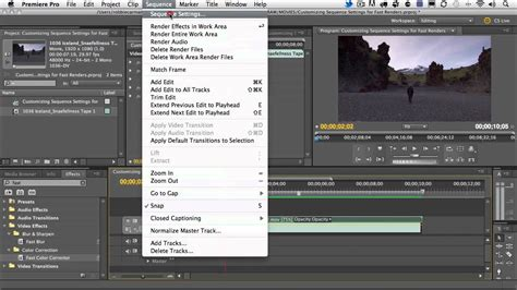 adobe premiere pro youtube settings adobe premiere pro cs5 5 customizing sequence settings for