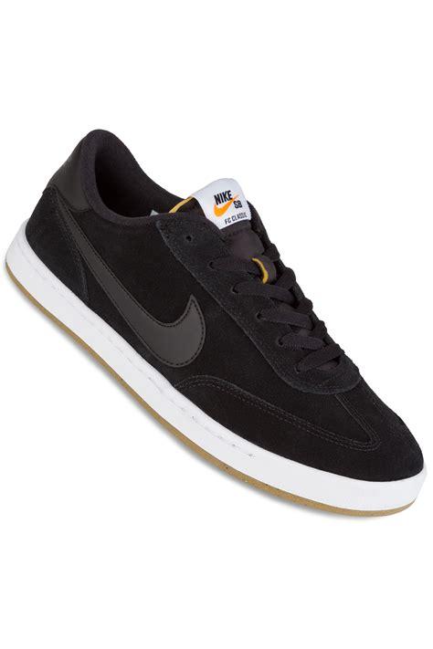 nike classic shoes nike sb fc classic shoes black black white buy at