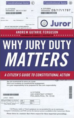 Jury Duty Criminal Record Criminal Practitioner A Refreshing Reminder Of