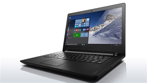 Lenovo Ip 110 14ibr Black lenovo ideapad 100 affordable laptop 14 inch review gse
