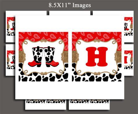 printable cowgirl birthday banner cowboy happy banner printable cowgirl happy birthday