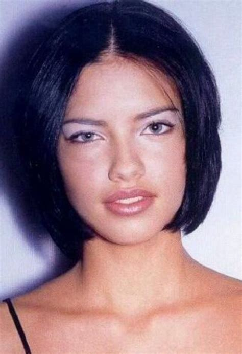adriana lima cool short hairstyles for women best 25 adriana lima young ideas on pinterest