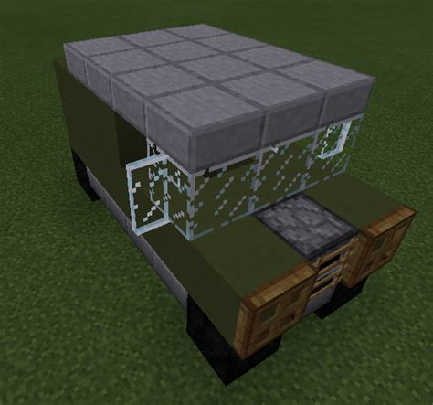 minecraft army jeep instant structure mod v0 8 6 for mcpe 0 12 3 minecraftpe