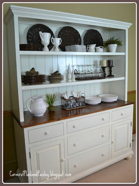 Dining Room Hutch Ideas by Corner Of Plaid And Paisley Better Than A New Car New