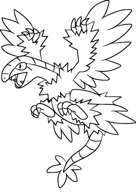 pokemon coloring pages moltres moltres pokemon coloring pages images articuno coloring page