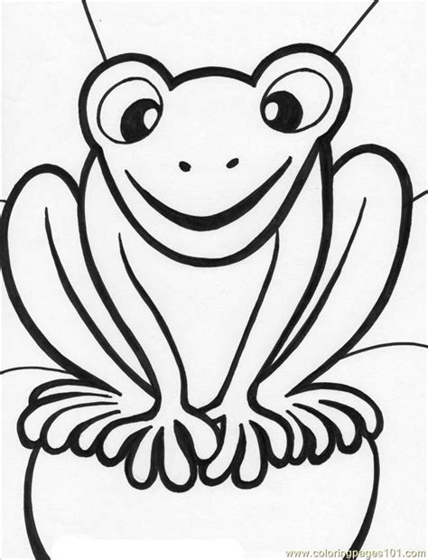 kissing frog coloring page 25 best ideas about frog coloring pages on pinterest