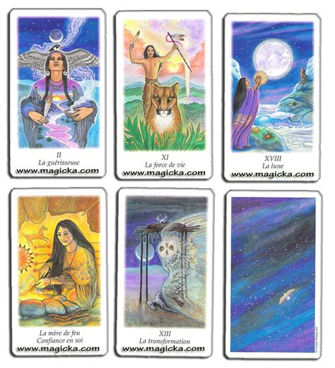 Jeux Et Chamanisme Am 233 Rindiens Oracle Du Chaman Tarot