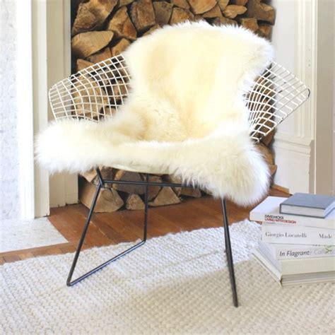 sheepskin rug on chair sheepskin rug on chairs misc 2012