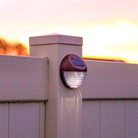 solar fence lighting 25 best ideas about fence lighting on solar