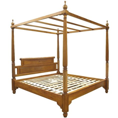 bed with posts mountbatten four poster bed akd furniture