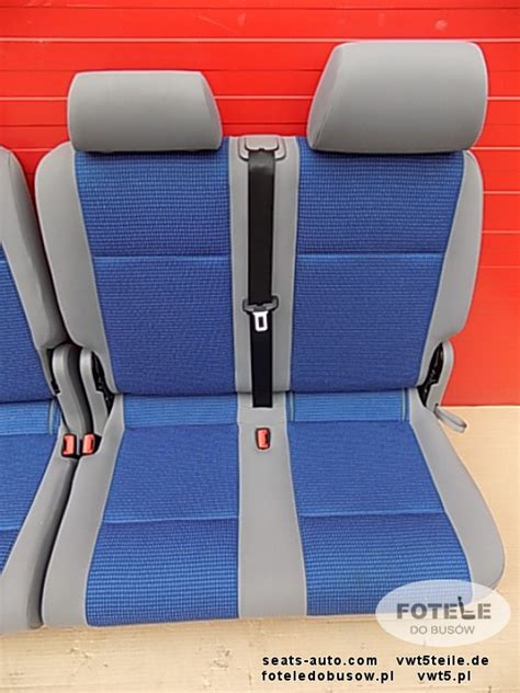 vw caddy bench seat seat rear bench double vw caddy second row blue ebay
