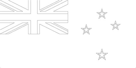 zealand flag coloring page sonlight core  window