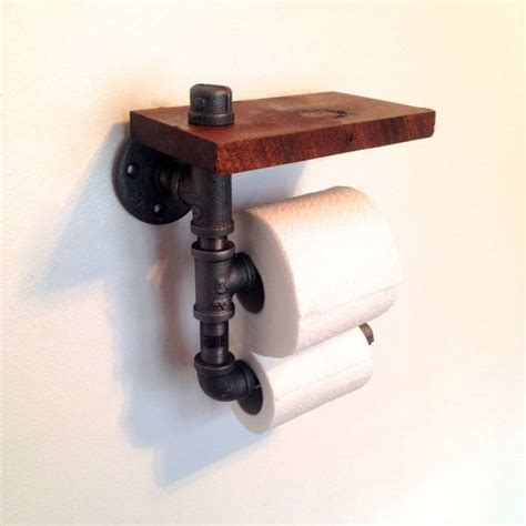 reclaimed wood pipe toilet paper holder home do not double toilet paper holder reclaimed wood pipe