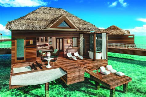 sandals south coast opens booking on overwater bungalows sandals goes over the water in saint lucia travelpress