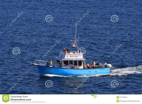 northland discovery boat tour northland discovery tour boat editorial stock photo