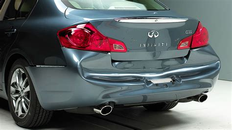 are infiniti expensive to fix bumpers on luxury cars are inadequate