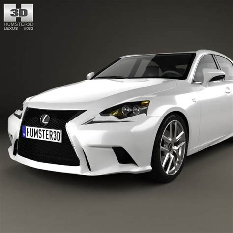 lexus models 2013 lexus is f sport xe30 2013 3d model humster3d