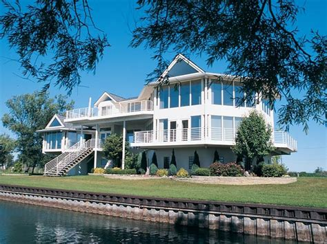 Luxury Lakefront House Plans Luxury Lake House Plans Custom Lake Home Plans House Plans For Lake Homes Treesranch