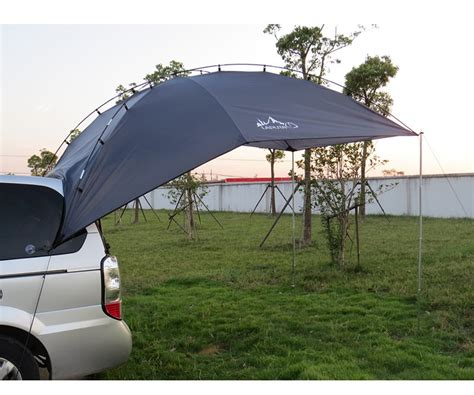 used cer awning back car tent awning roof top 2 in 1 cing travel tent