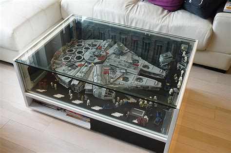 Beleuchtung Millennium Falcon by Falcon Coffee Table Bricknerd Your Place For All