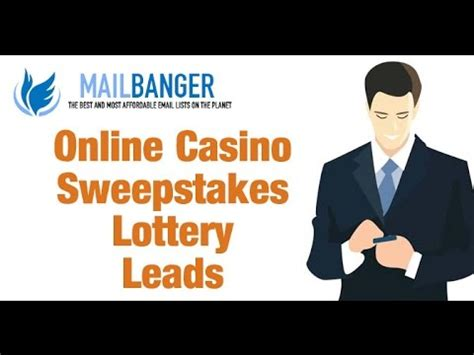 Sweepstakes Leads Online - sweepstakes leads brokers online youtube
