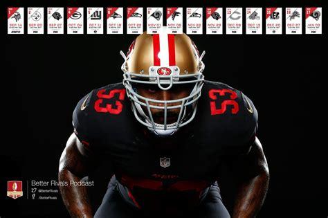 Calendario 49ers 2015 49ers 2015 Schedule Wallpapers Niners Nation